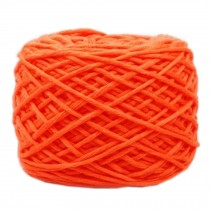 Soft Thick Quick Yarn Premium Yarn Cotton Linter Scarf Yarn, Orange
