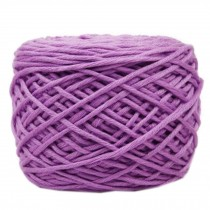 Soft Thick Quick Yarn Premium Yarn Cotton Linter Scarf Yarn, Purple