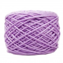 Soft Thick Quick Yarn Premium Yarn Cotton Linter Scarf Yarn, Light Purple
