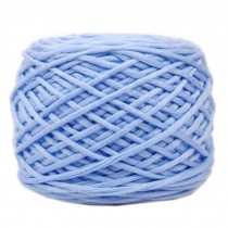 Soft Thick Quick Yarn Premium Yarn Cotton Linter Scarf Yarn, Blue