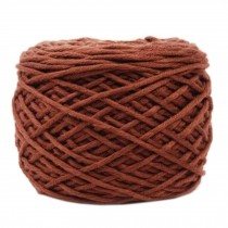 Soft Thick Quick Yarn Premium Yarn Cotton Linter Scarf Yarn, Coffee