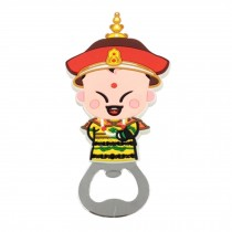 Chinese Peking Opera Characters Beer Bottle Opener Fridge Magnets, F