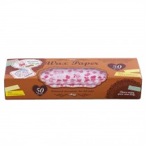 Household Beautiful Wax Paper Greaseproof Baking Paper Food Picnic Paper, L