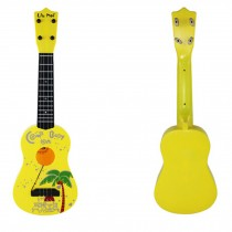 Kid's Fancy Dynamic Music Guitar Toy Yellow