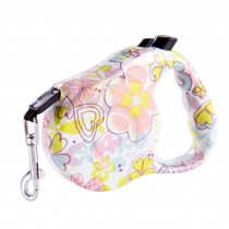 [16-feet Long]Retractable Pet Leash Dog Belt Dog Leash Strap Rope-Sakura