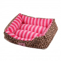 Soft Warm Indoor Quiet Time Pet Bed/sofa,NO.2,pink