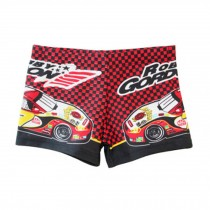 Kids Body Suits Swimwear Swimming Trunks For Hot Summer,Cartoon Car Beachwear
