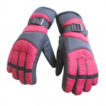 Cold Weather Skidproof&Waterproof Gloves for Men,Red