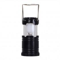 Indoor&Outdoor Camping Hiking Emergency LED Lantern Flashlight,black A