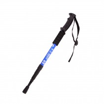 Outdoor Ultralight Hiking Walking Stick Adjustable Trekking Poles ,Blue