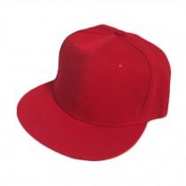 Red Baseball Cap Fitted Caps Flat Cap Hip-hop Eye-catcher Retro Summer Valentine