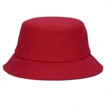 Outdoor Sports Hiking Fishing Hat Bucket Hat Sun Hats Summer Cap, Red