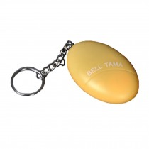 Emergency Self-Defence Electronic Personal Security Keychain Alarm - Yellow
