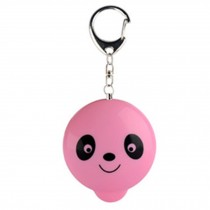 Womens/Kids Emergency Self-Defence Personal Security Keychain Alarm, Pink Panda