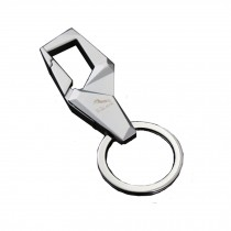 Fashion Metal Key Chain Ring business/car/door Keychain??silver