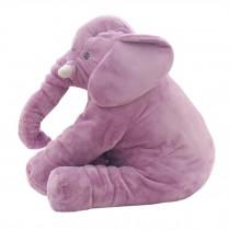 Elephant Baby Pillow Sleep Appease Doll Soft Plush Toy , Purple