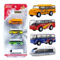 4 Car Gift Pack/ Best Gifts For Boys (Styles May Vary)    A