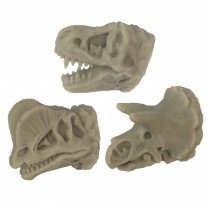 3 Pcs Simulation Dinosaur Drawer Knobs Resin Bone Knobs Decorative Kids Closet Handle Pulls