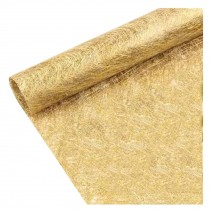10 Sheets Gold Flower Wrapping Paper Wedding Party DIY Bouquet Florist Supplies