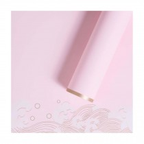 20 Sheets Japanese Style Flower Wrapping Paper DIY Wedding Party Decorations, Pink