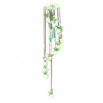 Luminous Plastic Grape Wind Chime Bell Outdoor Window Balcony Decorative Windchime