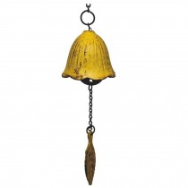 Vintage Wind Chime Cast Iron Door Entrance Bell Metal Wind Chimes for Home Garden Decoration