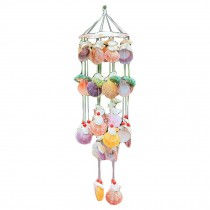 Colorful Shell Wind Chime Hanging Beach House Decoration Shop Restaurant Ornament