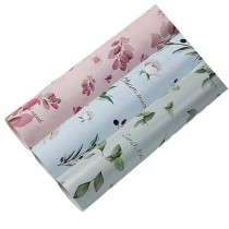9 Rolls Leaves Gift Wrapping Paper Tissue Paper Roll Birthday Holiday Baby Shower Gift Wrap Pink Blue Green Random Pattern