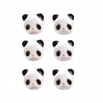Cute Animal Panda Stud Earrings Women Ear Stud Tiny Earring,3 Pairs