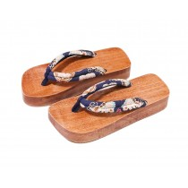 Japanese Style Wooden Clogs Womens Geta Sandals Platform Shoe