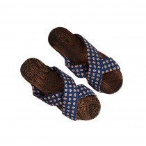 Womens Wooden Clogs Casual style Sandals Breathable Indoor and Outdoor Deep blue