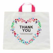 Thank You - 50 Pieces Plastic Shopping Bags Gift Bag Boutique Bags Carry bags