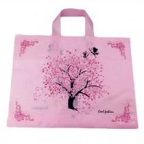 Sakura - 50 Pieces Plastic Gift Bags Boutique Bags Retail Shopping Bags