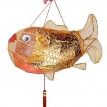 Creative Kids Room/Home Decor Carp Shape Hanging Lantern Decorative Cloth Lantern Lampshade
