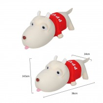 Set of 2 Lovely Dog Bamboo Charcoal Doll - Air Purifying Bag??Red(NO.01)