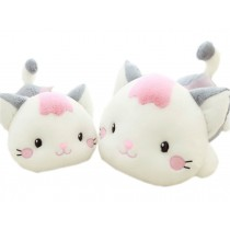 Set of 2 Cartoon Cat Car Odor Charcoal Bag Air Freshener/Purifying Bag Gray