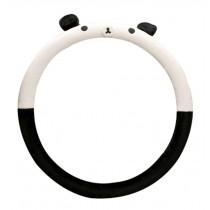 Winter Short Plush Car Sets Car Steering Wheel Cover Cartoon Cute,Panda