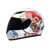 "Street Art Motorcycle Helmet Street Bike Full Face Helmet (XL,22 4/5""-23 3/5"")"
