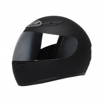 "Matte Black Motorcycle Helmet Street Bike Full Face Helmet (XL,22 4/5""-23 3/5"")"
