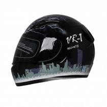 "Lightning Motorcycle Helmet Street Bike Full Face Helmet (XL, 23""-24"")"