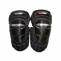 High-quality Carbon fiber Knee/Shin Guard Set for Racing Motocross Motocycle