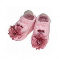 2 Packs Breathable Cotton Socks Low Cut Socks for Baby Girls, Pink[E]