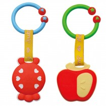 Baby Toddler Relieving Teether Newborn Infant Training Soft Teeting Candy&Apple
