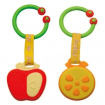 APPLE&ORANGE Baby Toddler Relieving Teether Newborn Infant Training Soft Teeting