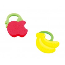 APPLE&BANANA Newborn Infant Training Soft Teeting Baby Toddler Relieving Teether