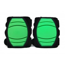 1 Pairs Soft Silicone Crawling Baby Knee Pads Protector Kids Knee Pad GREEN