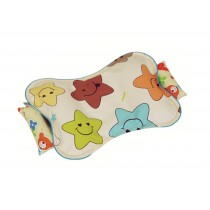 New Adjustable Prevent Flat Head Pillow Toddler Infant Baby Pillow Smiling Face