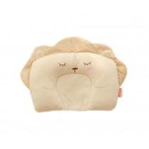 Cute Little Lion Pattern Cotton Baby Pillow Shape Prevent Flat Head Pillow