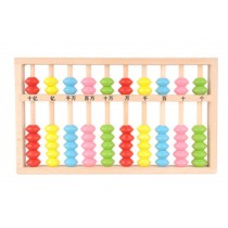 Babies' Learning Education Recognition Wooden Computation Frame Board