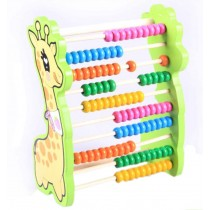Babies' Learning Education Recognition Wooden Computation Frame